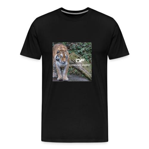 Forever Great tiger design - Men's Premium T-Shirt