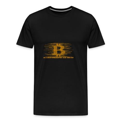 IN CRYPTOGRAPHY WE TRUST - Men's Premium T-Shirt