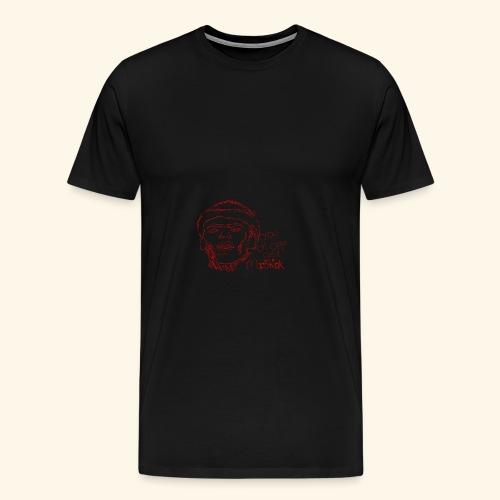 lud foe mopstick 1red - Men's Premium T-Shirt