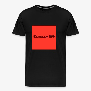 clkelly64 box logo - Men's Premium T-Shirt