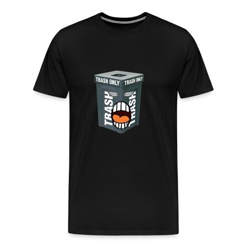 Trash Mouth Large Logo - Men's Premium T-Shirt
