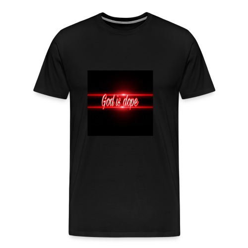 God is dope by young spoken - Men's Premium T-Shirt