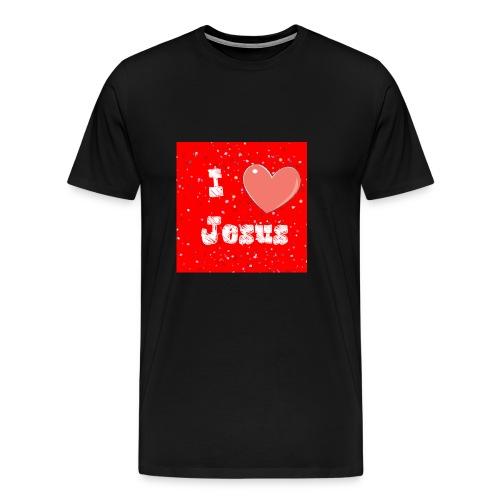 i heart jesus - Men's Premium T-Shirt