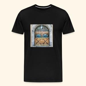 Shut the Front Door Let's Pray ! - Men's Premium T-Shirt