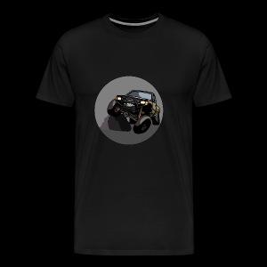 The Jalopy Circle - Men's Premium T-Shirt