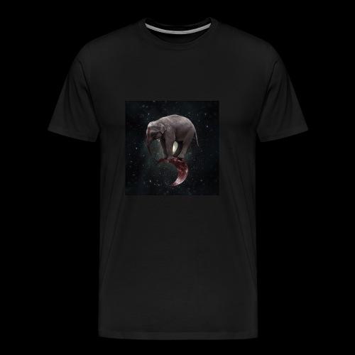 ANDROMEDA, Circus Elephant - Men's Premium T-Shirt