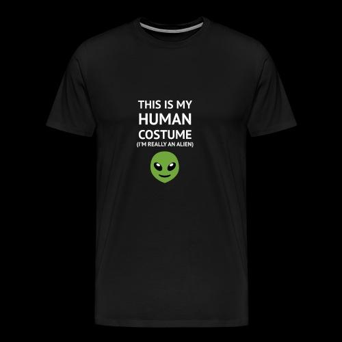 This Is My Human Costume - Alien Edition - Men's Premium T-Shirt