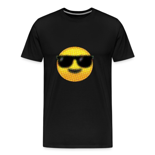 Keep cool! (Smiling Face with Sunglasses) - Men's Premium T-Shirt