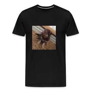 Kimber the dog - Men's Premium T-Shirt