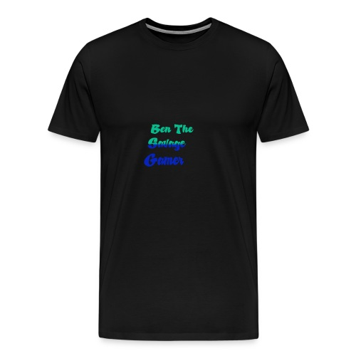 Ben 2rd logo - Men's Premium T-Shirt