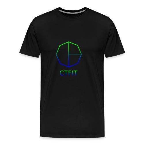 CTFIT PLUS LOGO - Men's Premium T-Shirt