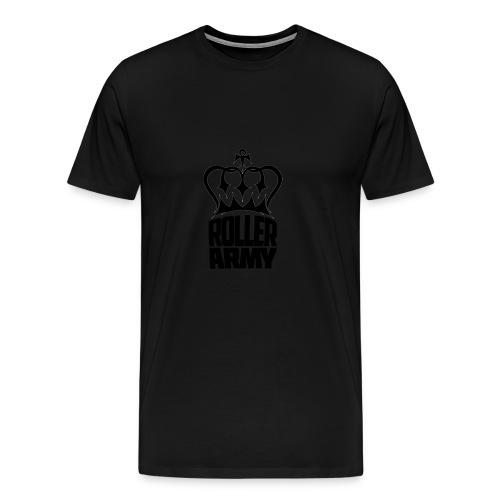 Roller Army Logo - Men's Premium T-Shirt