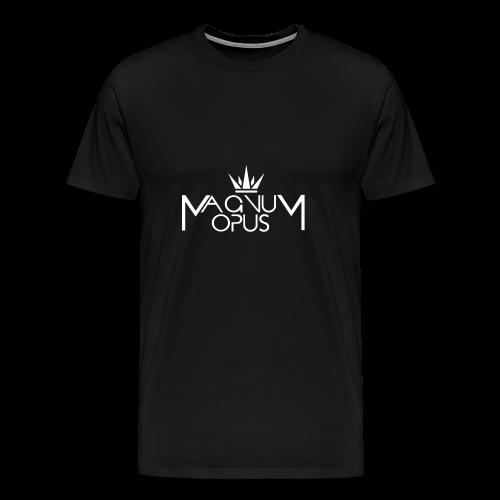 MOCC Magnum Opus WHT - Men's Premium T-Shirt