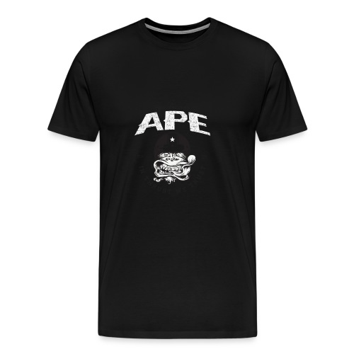 The_Two_Wheeled_Ape_Full_Throttle - Men's Premium T-Shirt