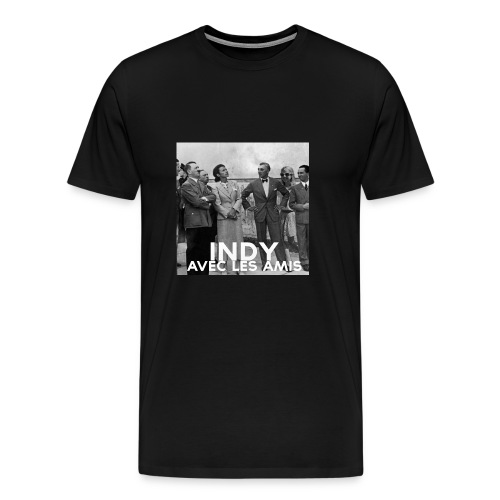 Indy avec les amis - Men's Premium T-Shirt