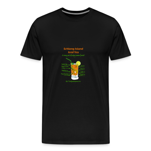 Schlong Island Iced Tea - Men's Premium T-Shirt