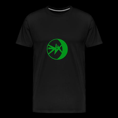 EKlips Clothing Green/Blk - Men's Premium T-Shirt