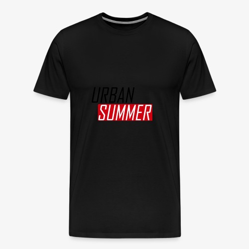 Urban Summer Logo - Men's Premium T-Shirt