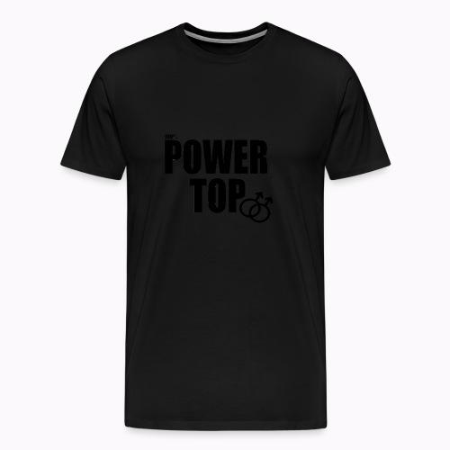 100% Power Top - Men's Premium T-Shirt