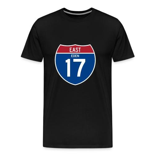 Road Sign Eden - Men's Premium T-Shirt