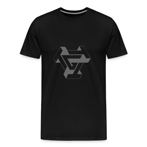 TTTG LOGO in Grey - Men's Premium T-Shirt
