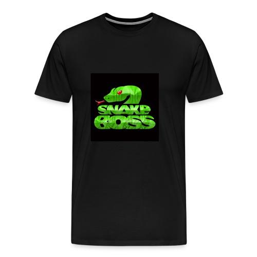 Snake boss black logo - Men's Premium T-Shirt