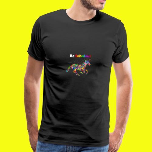 Fabulous unicorn perfect gift idea - Men's Premium T-Shirt
