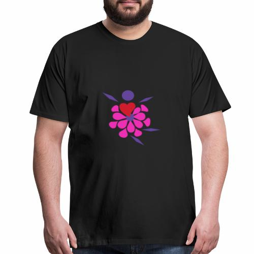 Flower Damcer - Men's Premium T-Shirt