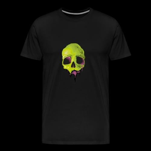 Undead Skull Design - Men's Premium T-Shirt