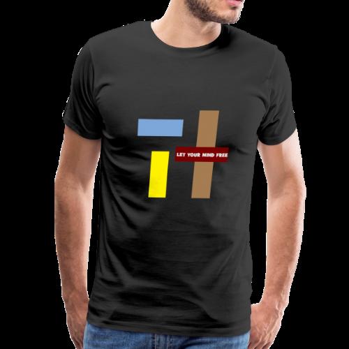 Let your mind free. - Men's Premium T-Shirt