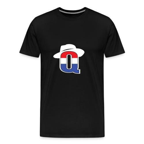 QbredWB - Men's Premium T-Shirt