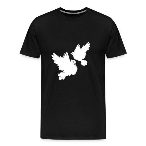 Pigeons and doves - Men's Premium T-Shirt