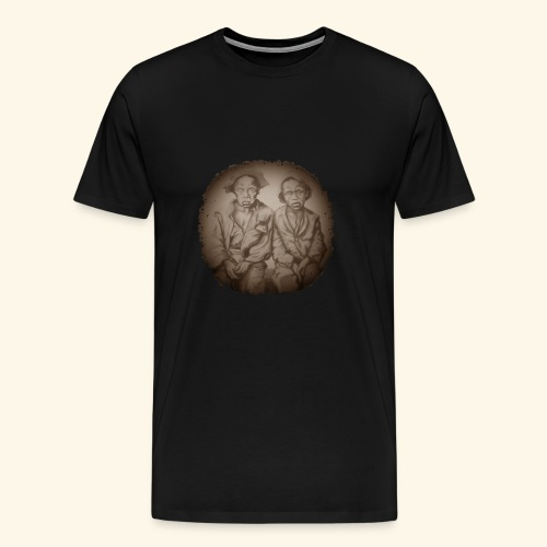two young slaves - Men's Premium T-Shirt