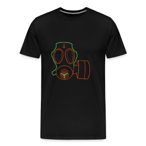 Colorful Lord's Gas Mask - Men's Premium T-Shirt