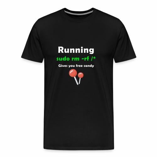 Sudo rm -rf /* - Men's Premium T-Shirt