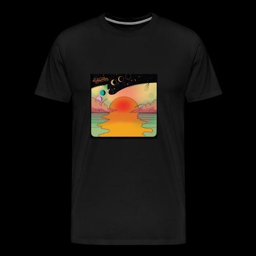 Sunset moon - Men's Premium T-Shirt