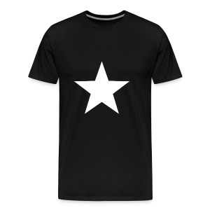 WHITE STAR 001 - Men's Premium T-Shirt