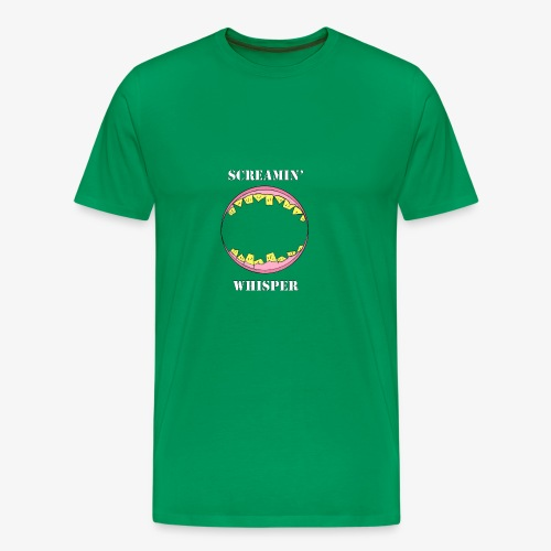 Screamin' Whisper - Men's Premium T-Shirt