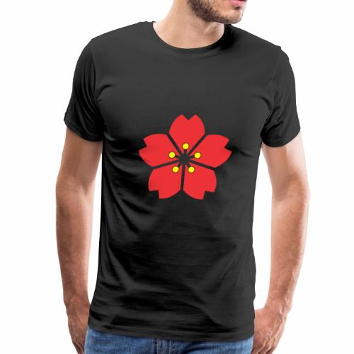 cherry blossom Autumn - Men's Premium T-Shirt