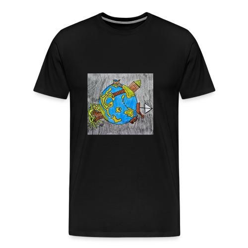 Beach World - Men's Premium T-Shirt