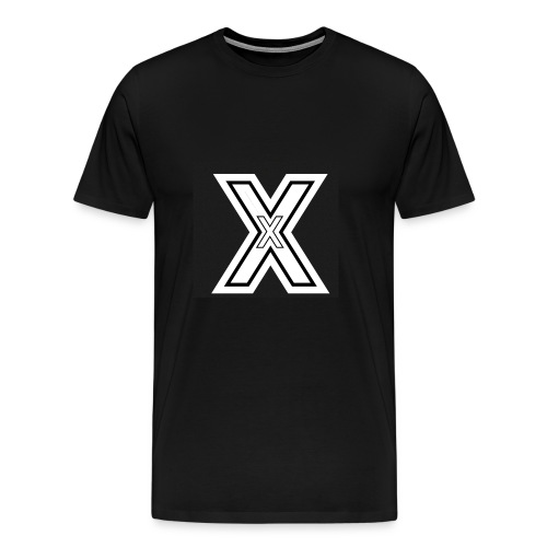 Black X - Men's Premium T-Shirt