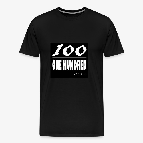 ONE HUNDRED WHITE - Men's Premium T-Shirt