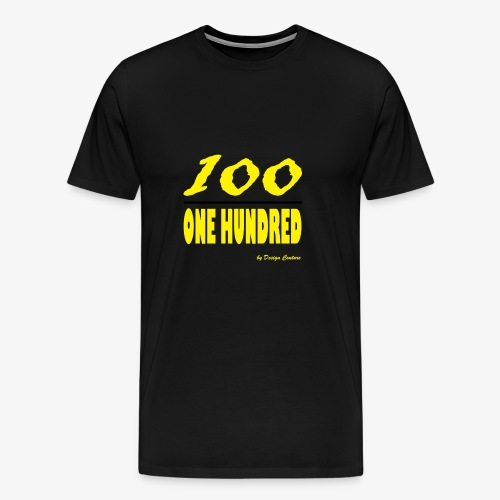 ONE HUNDRED YELLOW - Men's Premium T-Shirt