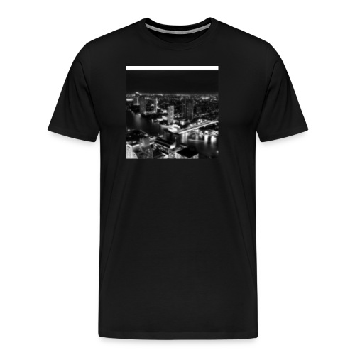 Black Out City - Men's Premium T-Shirt