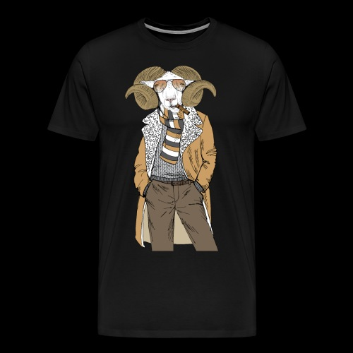 Mr. Goat - Men's Premium T-Shirt