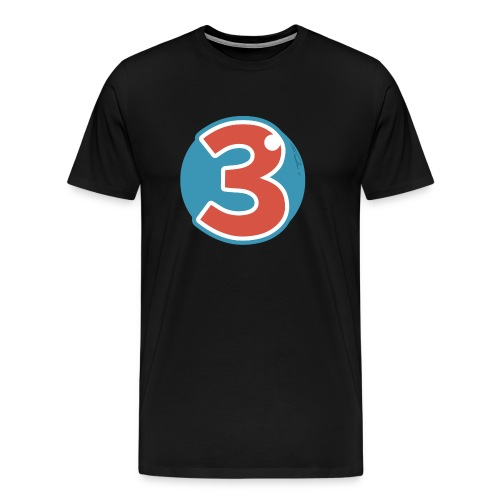 3 Years - Men's Premium T-Shirt