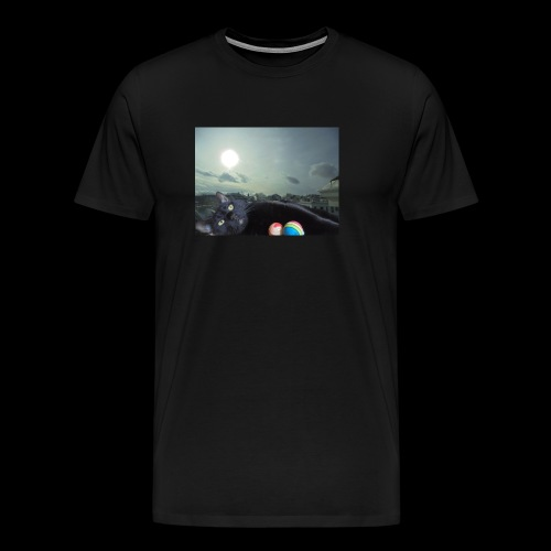 Cat Bed - Men's Premium T-Shirt