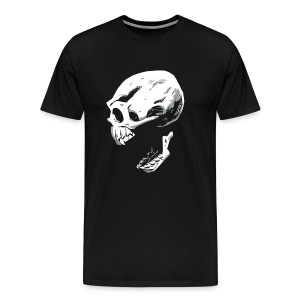Screaming Skull - Men's Premium T-Shirt