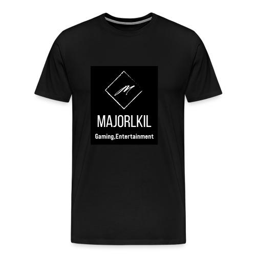 Black Alternative Logo - Men's Premium T-Shirt