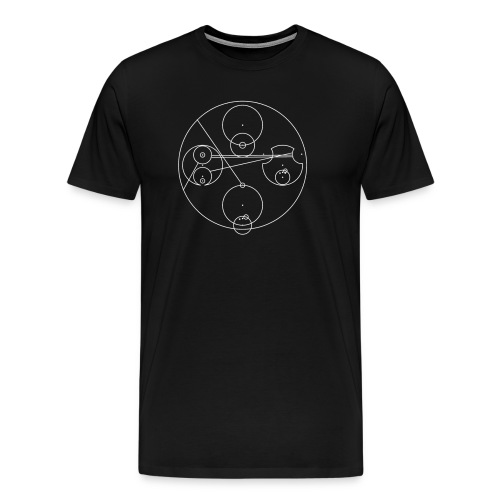 Dr. Who Gallifreyan You lost the game - Men's Premium T-Shirt